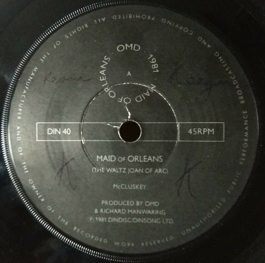 Orchestral Manoeuvres In The Dark : Maid Of Orleans (7
