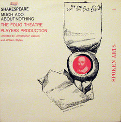 William Shakespeare, Folio Theatre Players : Much Ado About Nothing (LP)
