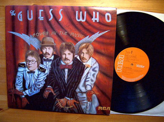 The Guess Who : Power In The Music (LP, Album)