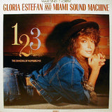"Miami Sound Machine : 1, 2, 3 (The Dancing By Numbers Mix) (12"", Maxi)"