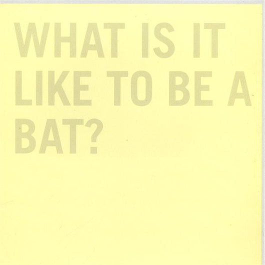 100Records : What It Is Like To Be A Bat? (12