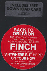 Finch (2) : Back To Oblivion (LP, Album)