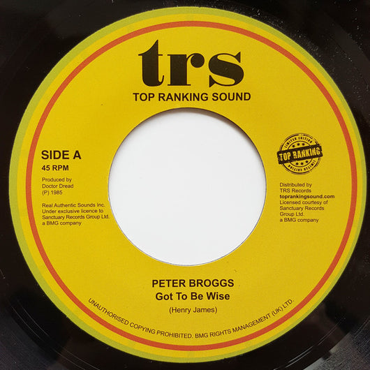 Peter Broggs : Got To Be Wise (7