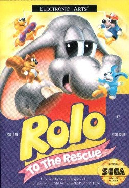 Rolo To The Rescue - Megadrive