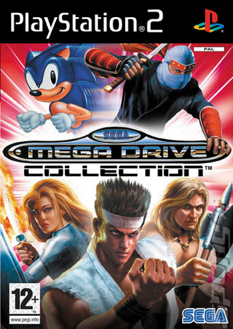 Mega Drive Collection - PS2