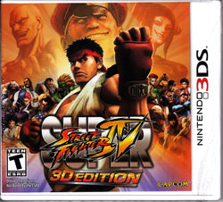 Super Street Fighter 4 - 3DS