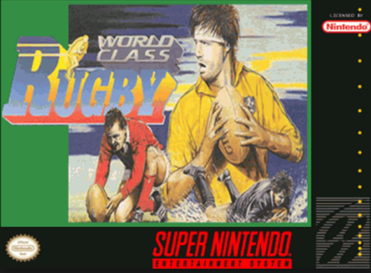 World Class Rugby - SNES
