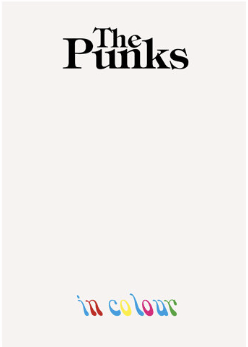 Eddie Kenrick - The Punks In Colour (book)