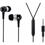 Volkano Stannic Series Earphones With Mic - Black