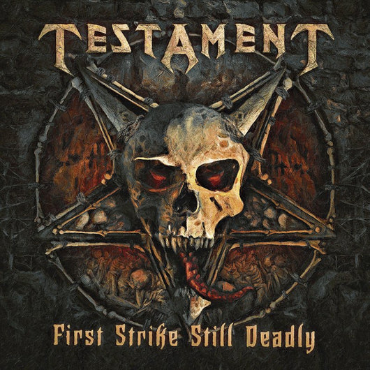 "Testament - First Strike Still Deadly (Limited Gatefold 140g Black Vinyl + 7"")"