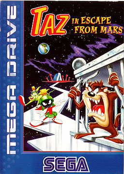 Taz Escape From Mars - Megadrive