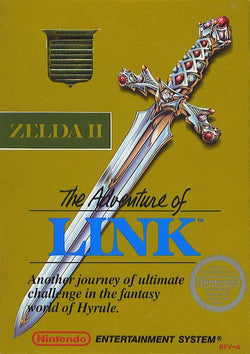 Zelda II The Adventure Of Link - NES