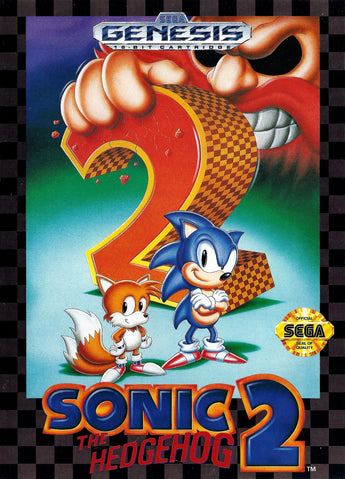 Sonic The Hedgehog 2 �– Megadrive