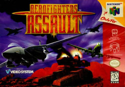 Aerofighters Assault - N64