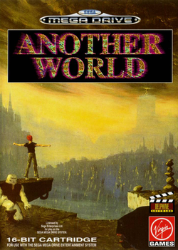 Another World - Megadrive