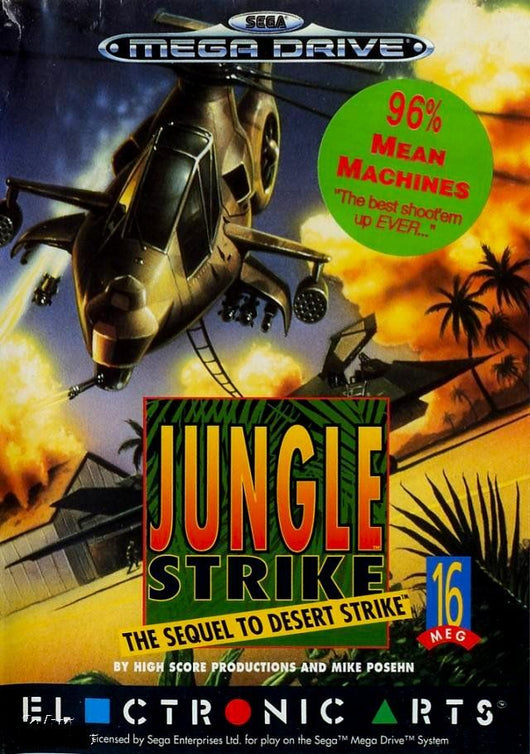 Jungle Strike - Megadrive