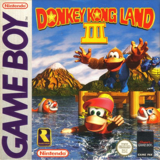 Donkey Kong Land 3 - Gameboy