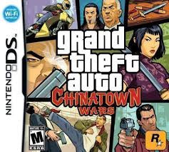 GTA Grand Theft Auto: Chinatown Wars - DS