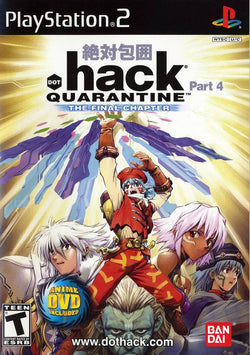 Hack 4 Quarantine (with DVD) - Ps2