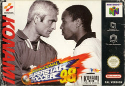 International Superstar Soccer 98 - N64