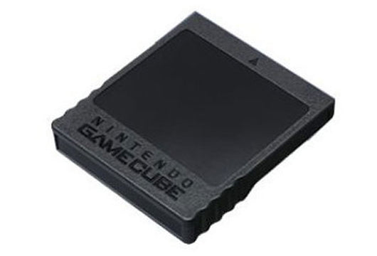 Official Gamecube Memory Card