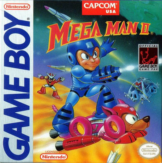Mega Man 2 - Gameboy