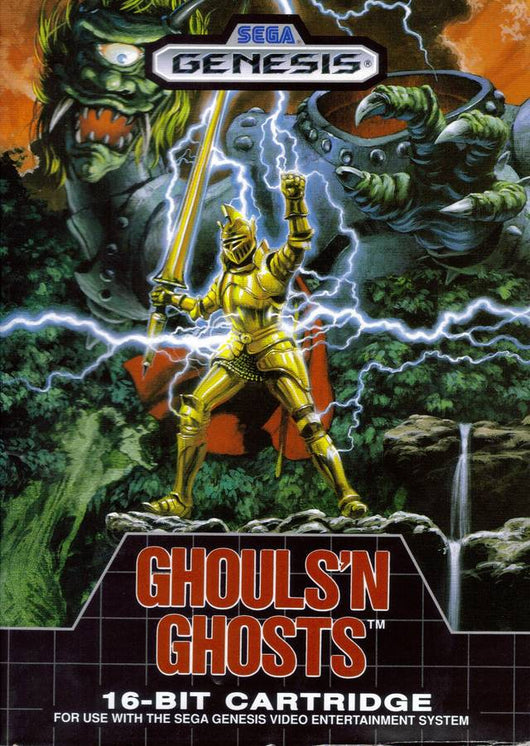 Ghouls N' Ghosts - Megadrive
