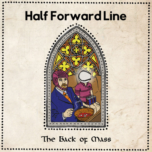 Half Forward Line - The Back Of Mass (cassette)