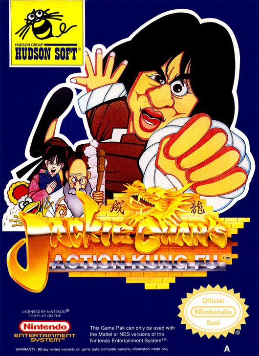Jackie Chan Kung Fu - NES