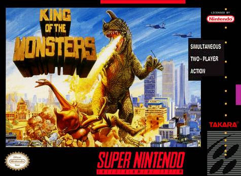 King Of The Monsters - SNES