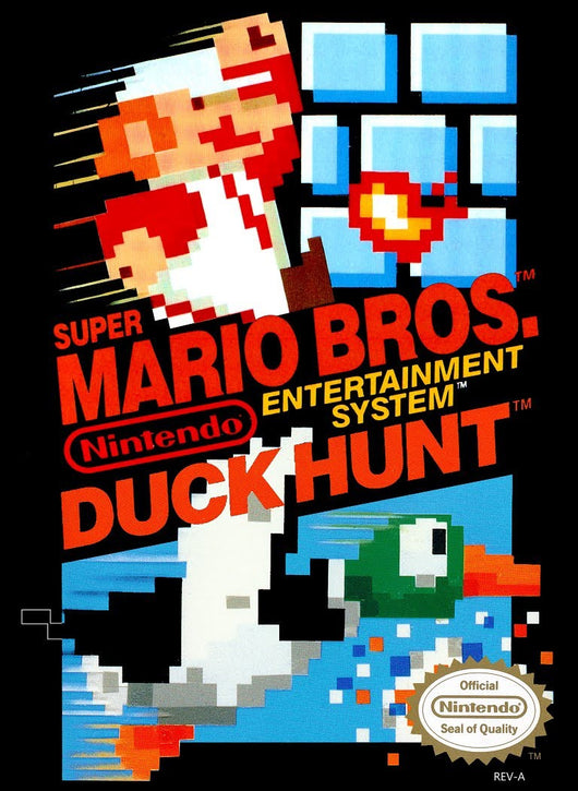 Super Mario Bros and Duck Hunt - Nes