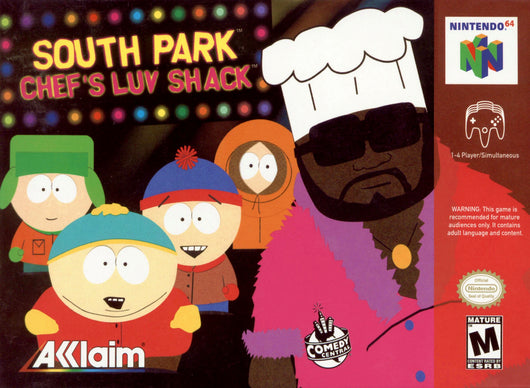 South Park Chef's Luv - N64