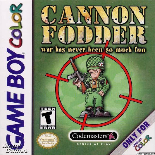 Cannon Fodder - Game Boy