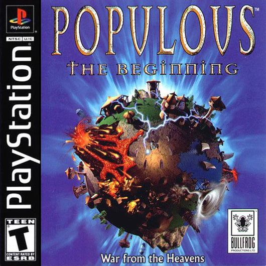 Populous: The Beginning - Ps1