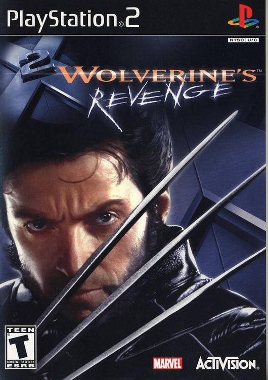 X-Men 2 Wolverines Revenge - Ps2