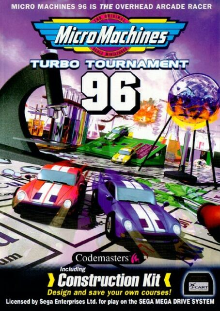 Micro Machines Turbo Tournament 96 - Megadrive