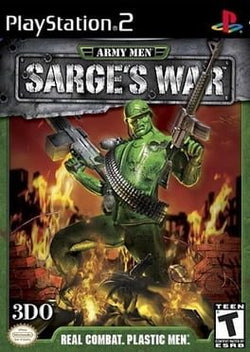 Army Men: Sarges War - Ps2