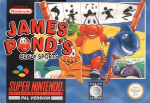 James Ponds Crazy Sports - SNES