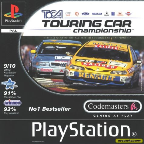 Toca Touring Cars - PS1