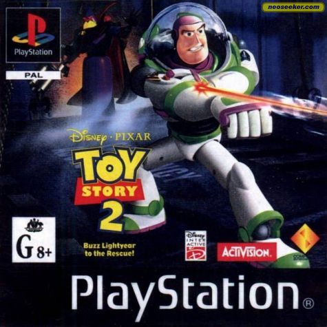 Disney/Pixar Toy Story 2: Buzz Lightyear to the Rescue - PS1