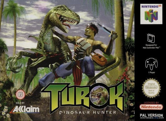 Turok Dinosaur Hunter - N64