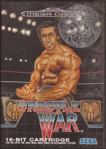 Wrestle War - Mega Drive