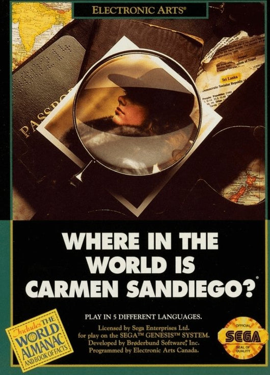 Where in the World is Carmen Sandiago - MD