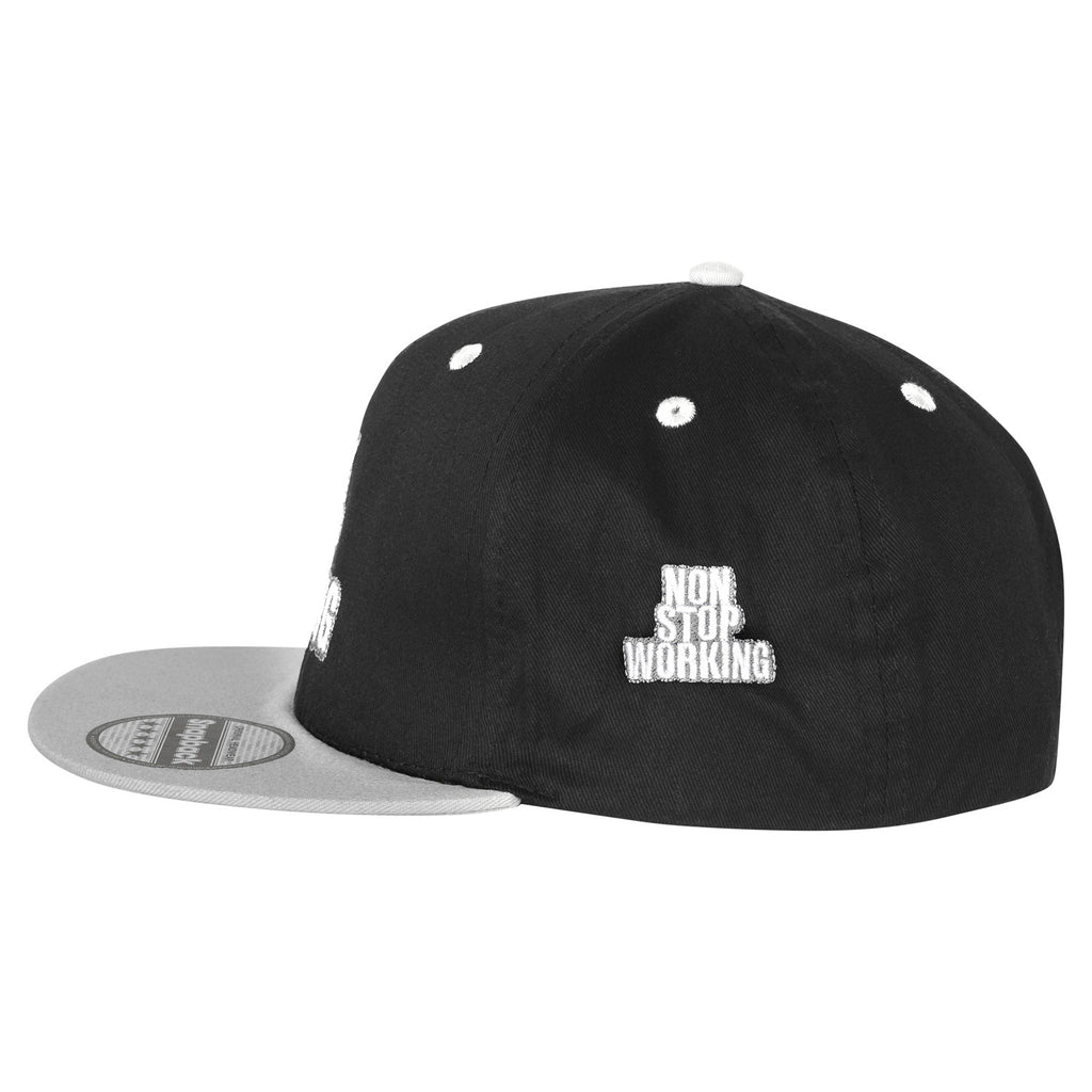 RETRO NON STOP WORKING SMOKEY SNAPBACK CAP