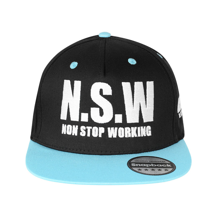 NON STOP WORKING BUBBLEGUM SNAPBACK CAP