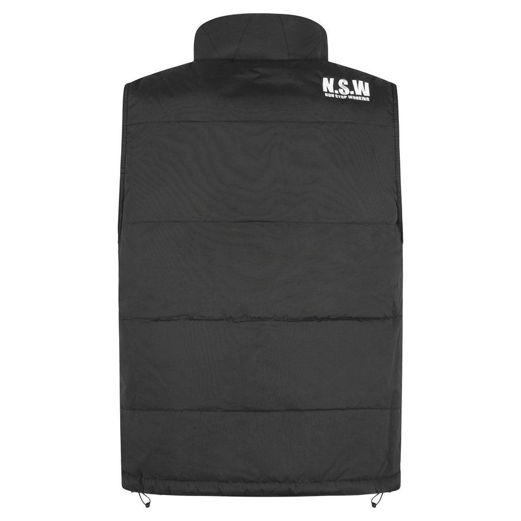 Black Men's Bodywarmer