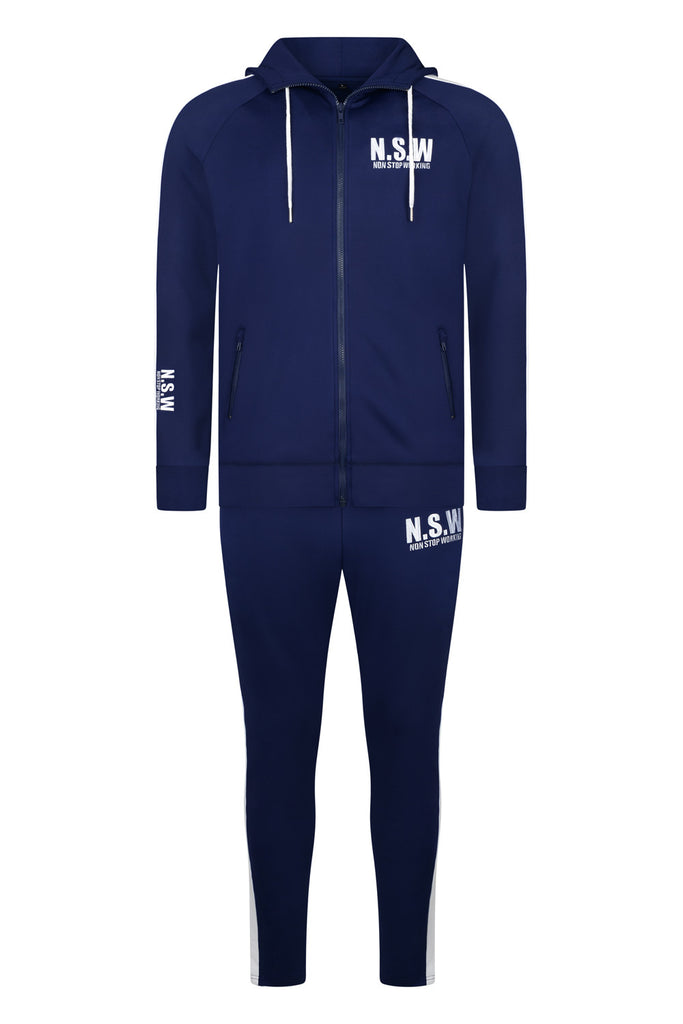 NON STOP WORKING ROYAL BLUE CLASSIC TRACKSUIT