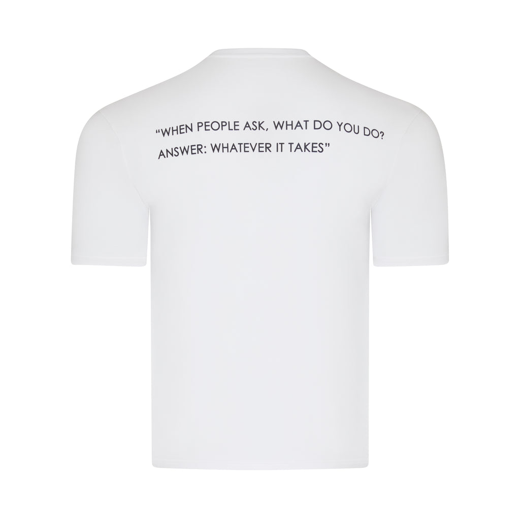 WHEN PEOPLE ASK, WHAT DO YOU DO, ANSWER WHATEVER IT TAKES. NON STOP WORKING GORILLA T-SHIRT