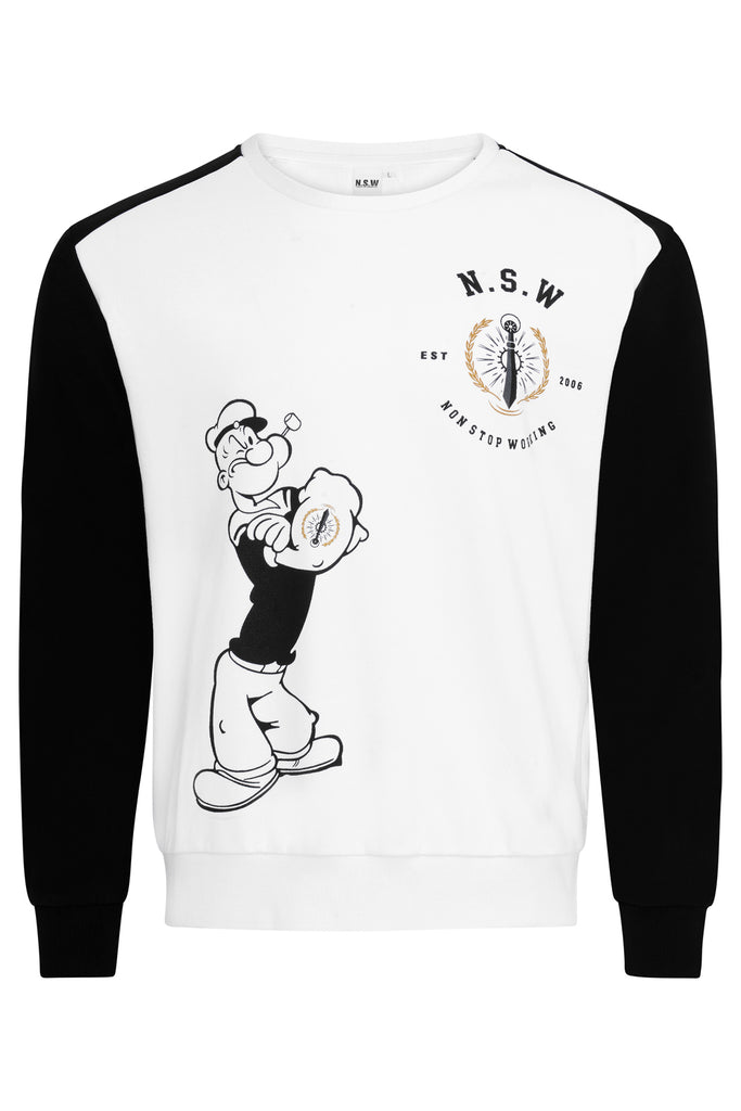 Animated Popeye Sweatshirt