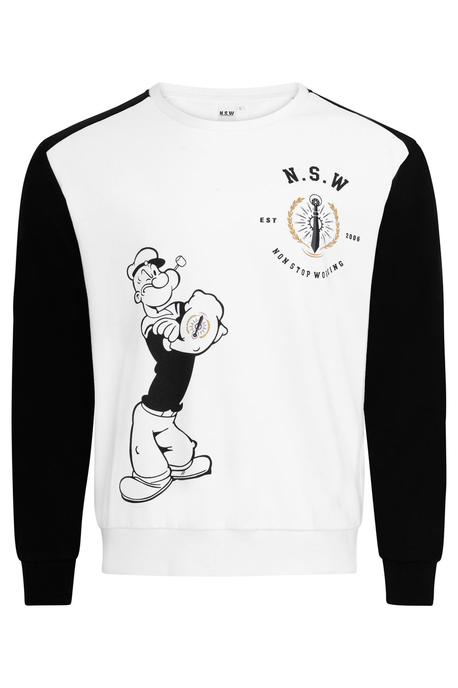 NON STOP WORKING ANIMATED SWEATSHIRT *LIMITED EDITION*
